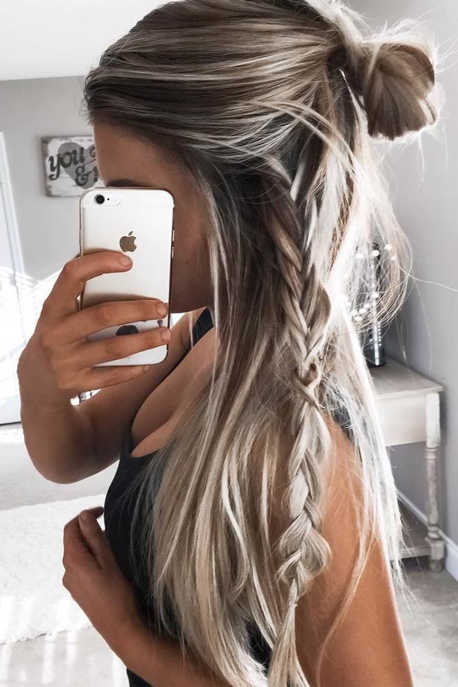 Styles For Long Hair 116 Best Easy Hairstyles For Long Hair Images On Pinterest