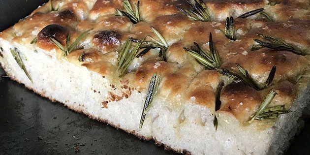 Focaccia brød – lækker opskrift