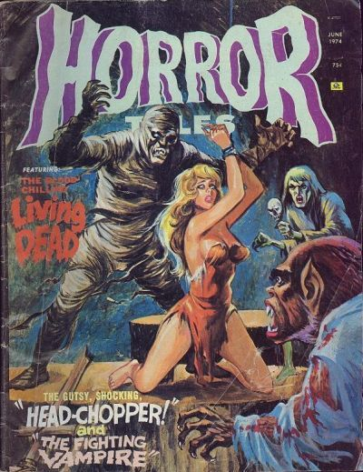 Cover for Horror Tales (1969 series) #v6#3