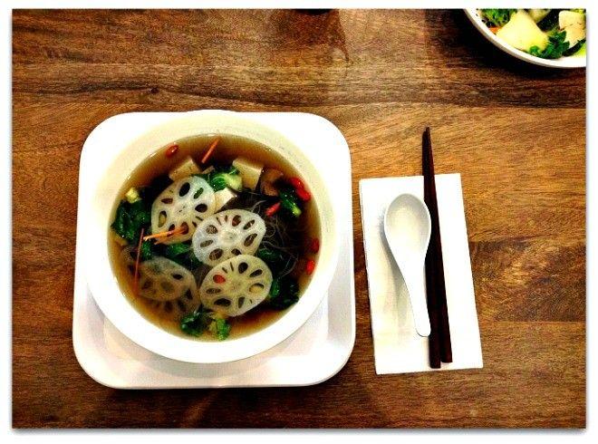 Healing Seasonal Root Vegetable Soup with Shiitake Mushroom Stock