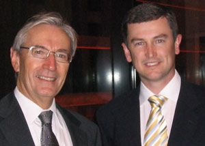 Jeff Egan with Senator