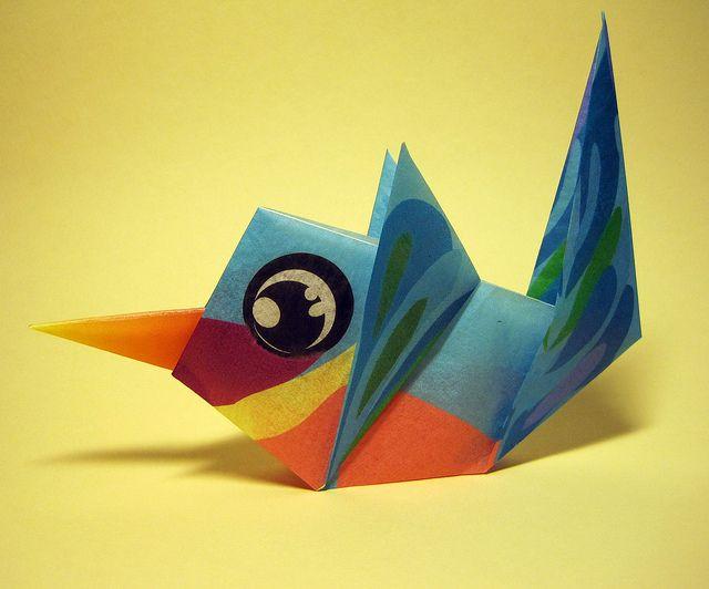 Origami Hummingbird | Flickr - Photo Sharing!