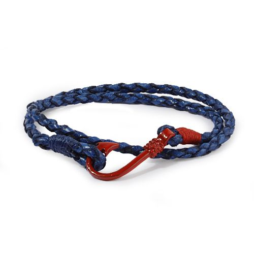 blue marine bracelets by deriart