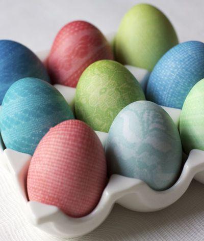 Patterened Easter Eggs