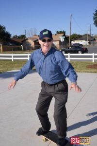 Houston Skateboard Park: Mayor Darling Shows Off Moves - Texas Border Business