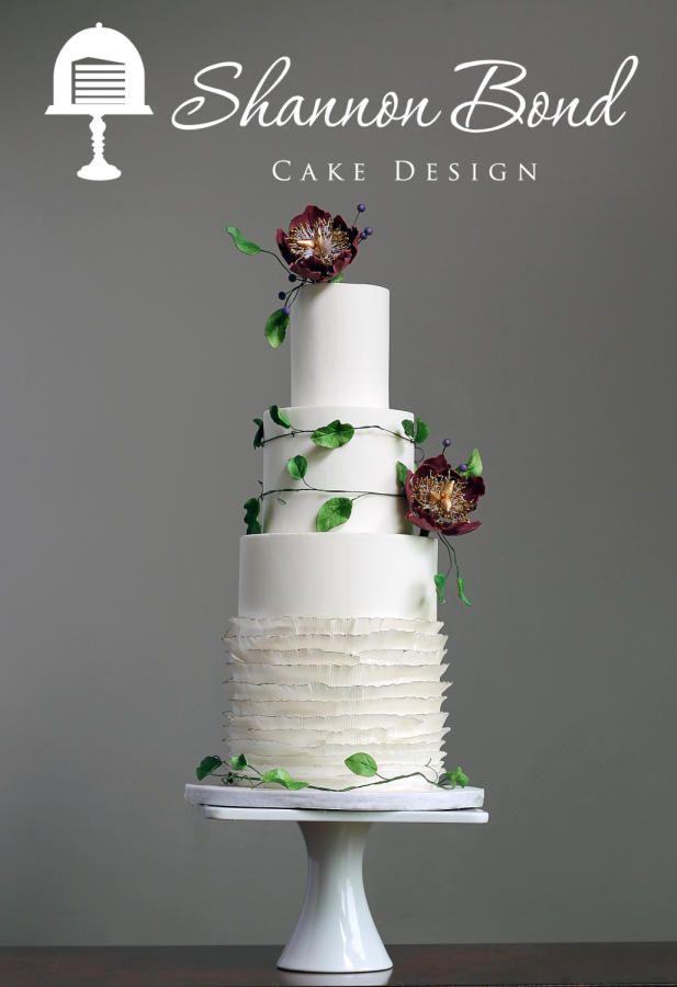 Midsummer's Night Dream Wedding Cake by Shannon Bond Cake Design - http://cakesdecor.com/cakes/249780-midsummer-s-night-dream-wedding-cake