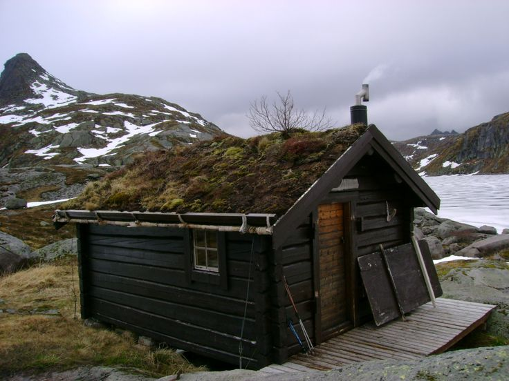 """Lofoten is one of the most beautiful places I've ever been --  """"Hiker's cabin in Lofoten Islands, Norway"""" #travel #norway #home #architecture #nature"""