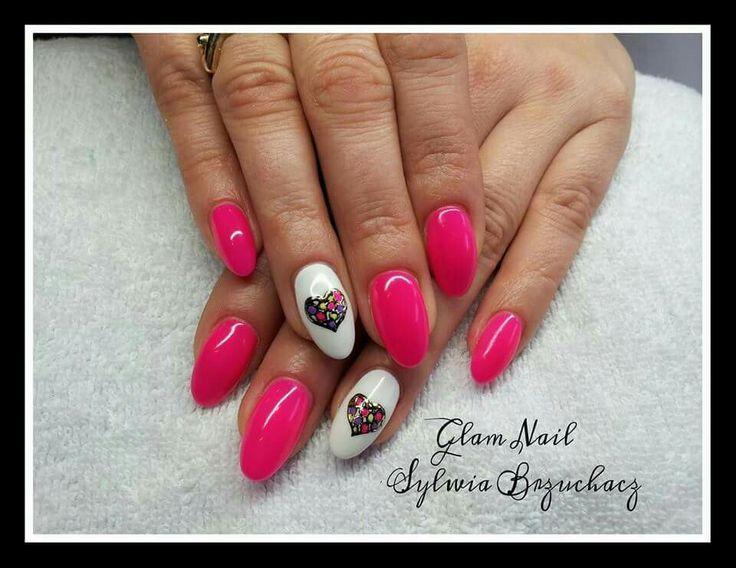 15 best pazury images on pinterest stiletto nails gel nails and r1biayciemne serduszko prinsesfo Choice Image