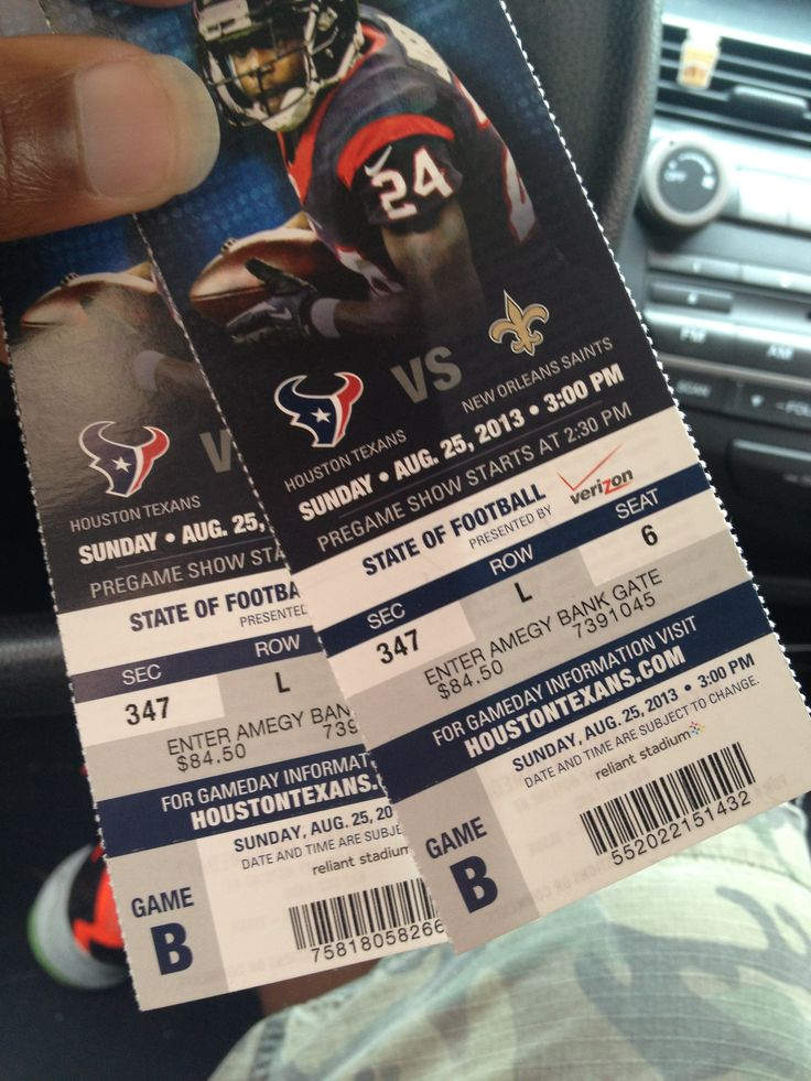 Texans vs saints
