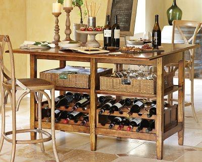 Perfect La Bergerie Wine Tasting Table, Oak   Williams Sonoma (for Peter) Photo Gallery