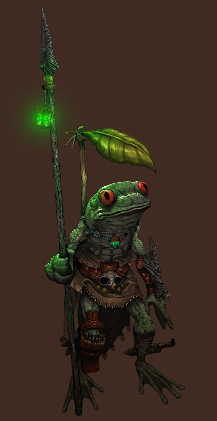 Bullywug Scout by regourso.deviantart.com on @deviantART