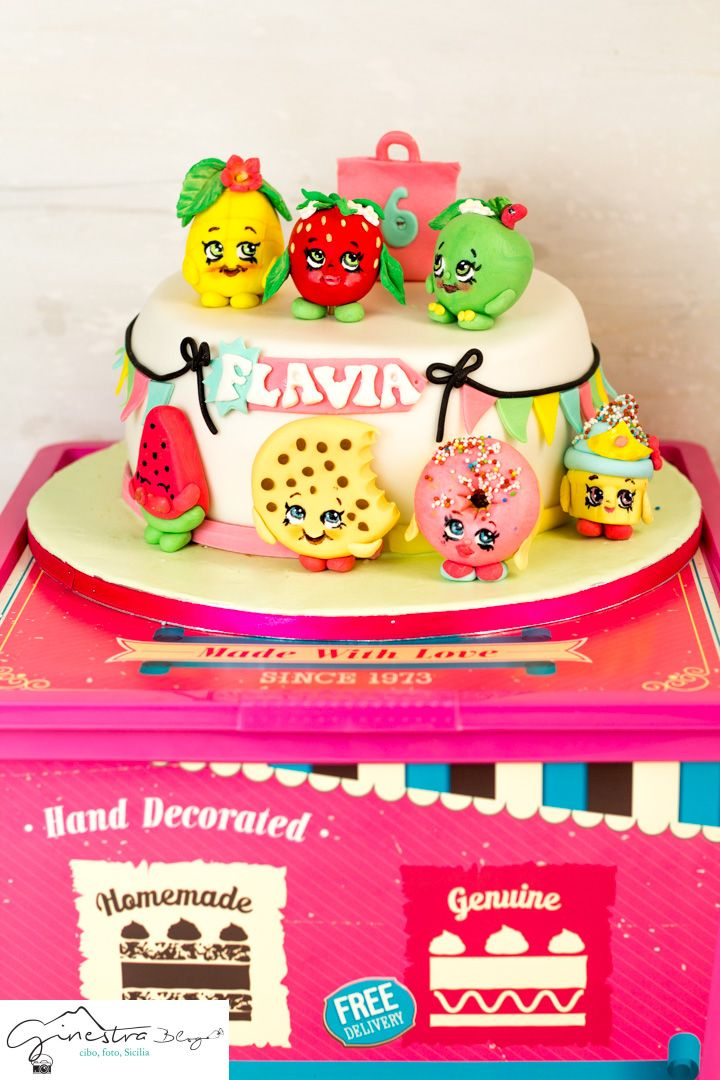 #torta shopkins #shopkinscake #cakedesign