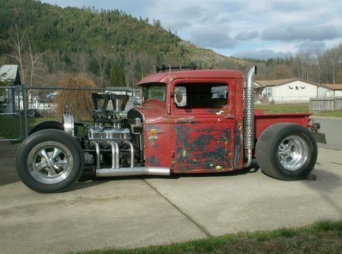 1934 ford rat rod trucks | Rat Rod 1934 Ford Pickup Hot Rod - Magazine Car on 2040cars