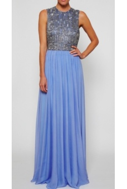 Rachel Gilbert - Sian Gown Blue Bell Borrow for $299 p/w