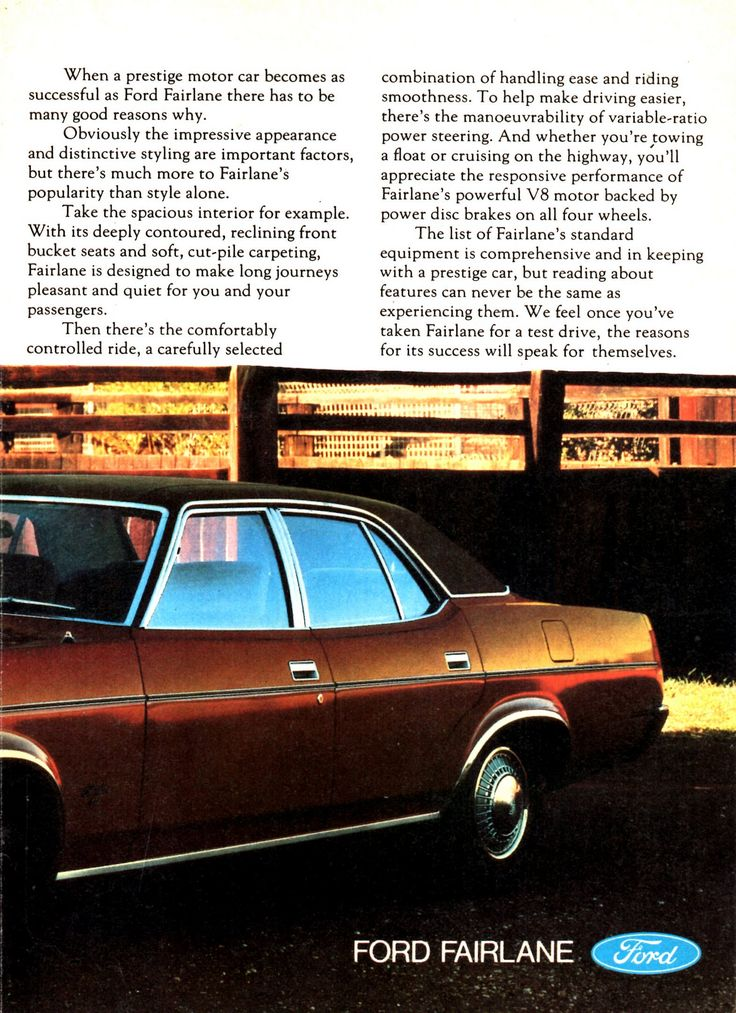 https://flic.kr/p/KRovx8 | 1978 ZH Fairlane By Ford Page 2 Aussie Original Magazine Advertisement