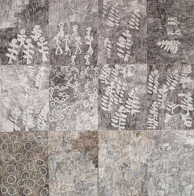 Djorra (paper) 1 by Nyapanyapa Yunupingu at Roslyn Oxley9 Gallery | Ocula