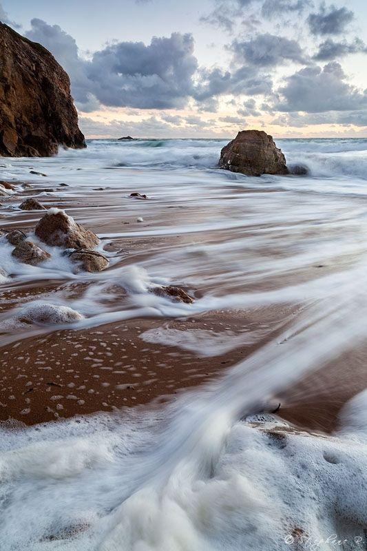 Une plage magnifiques à Quiberon en Bretagne. Mer et ciel bleu, qui nous emporte dans un tout autre univers. #Bretagne #plage