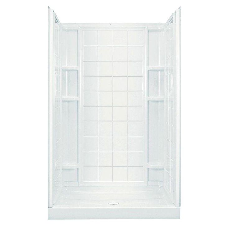 STERLING Ensemble Tile 35 1 4 in  x 48 in  x 77. 13 best Showers images on Pinterest