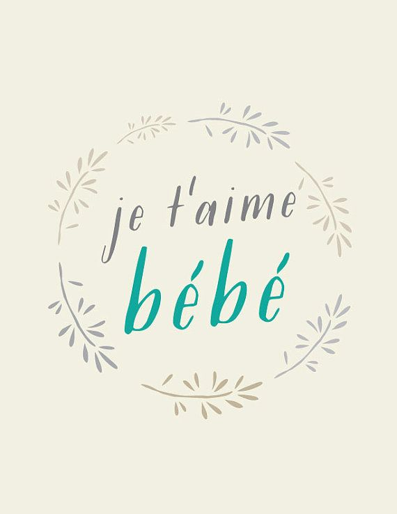 how to spell i love you in french