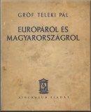 Teleki Pál   Európáról és Magyarországról