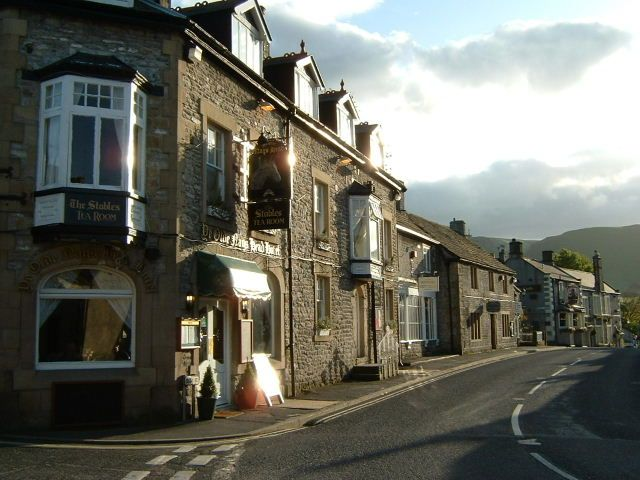 The pretty town of Castleton in the Peak District - a good base to visit the nearby Devil's Arse from (it's a cave)