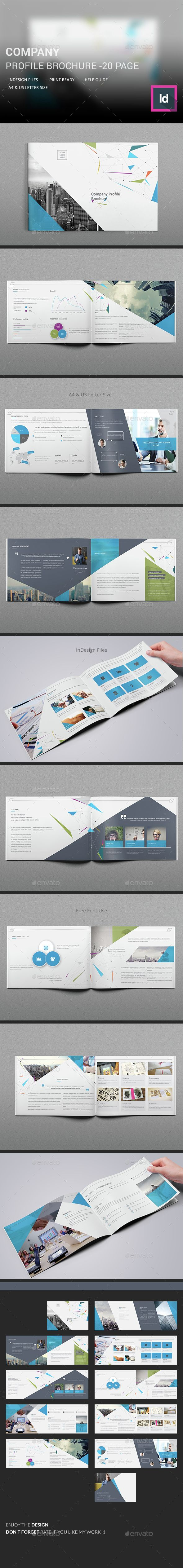 Company Profile Brochure Template InDesign INDD. Download here: http://graphicriver.net/item/company-profile-brochure/14907774?ref=ksioks
