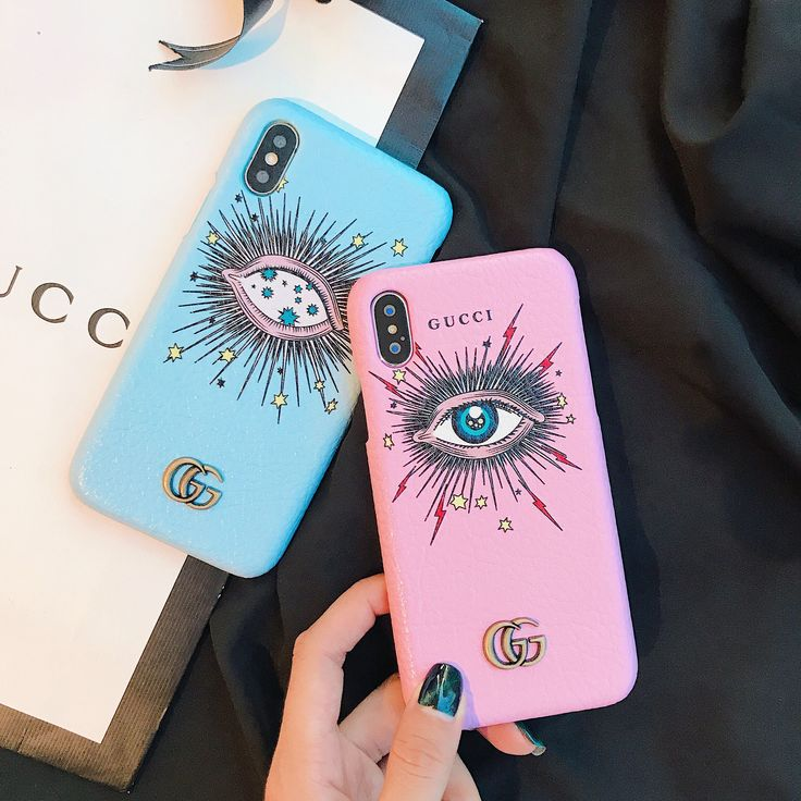 Gucci blue mysterious eye phone case for iphone xr iphone