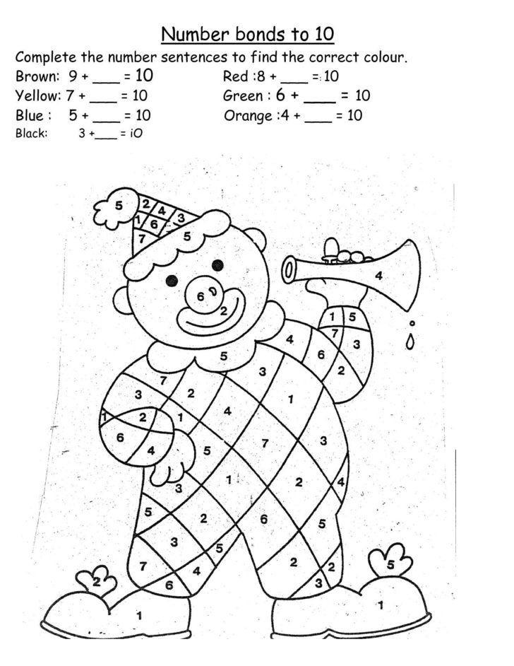 Rainbow Worksheets For Kindergarten Number Bonds Rainbow Worksheet Inspirationa Telling In 2020 Number Bonds Number Bonds Worksheets Kindergarten Worksheets Printable