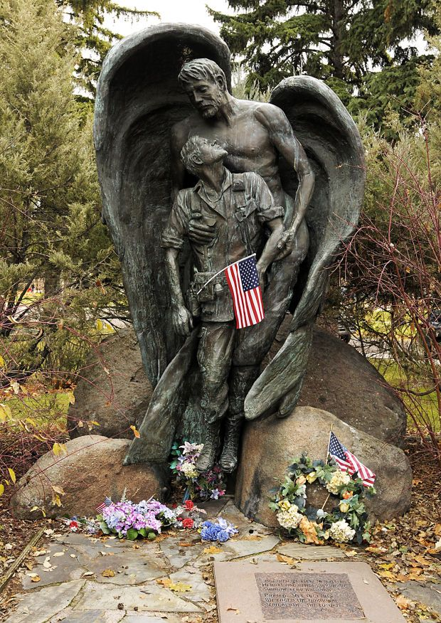 Vietnam vets memorial in Missoula, MT. #VietnamWarMemories