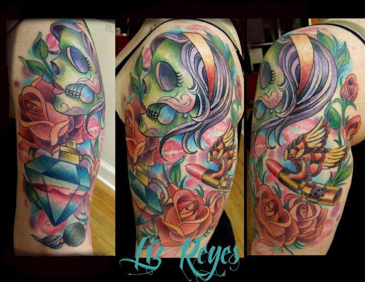 Girly Half Sleeve Tattoo Ideas: 17 Best Girly Sleeve Tattoos For Women Images On Pinterest