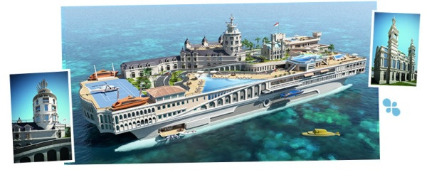 I could so live here!Islands Design, Grand Prize, Luxury Yachts, Boats,  Ocean Liner, Monaco, Crui Ships, Monte Carlo, Hotels