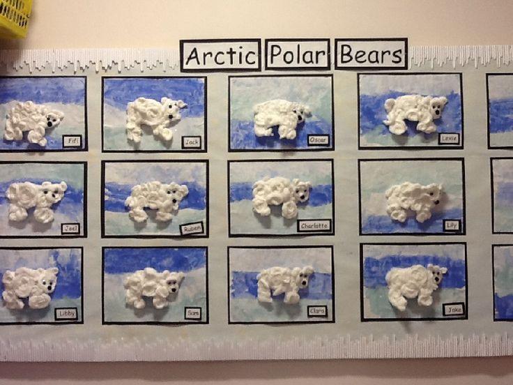 Arctic Polar Bears classroom display photo - Photo gallery - SparkleBox