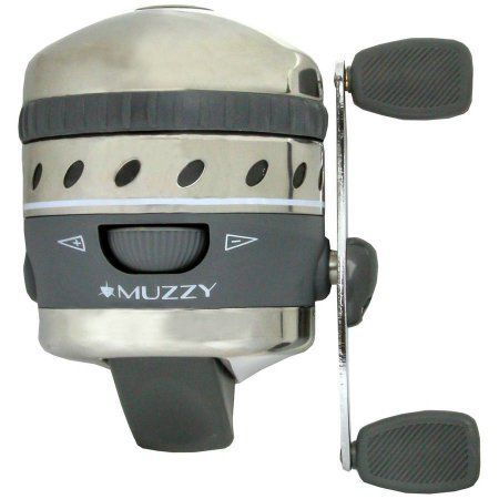 Muzzy XD Bowfishing Reel with 150# Line, Multicolor