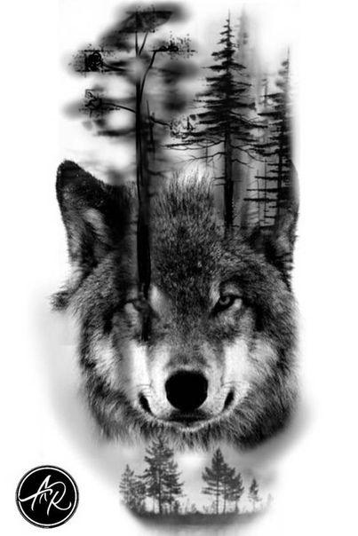 Fotografias De идеи татуировок Tatoo Pinterest Tattoos Wolf