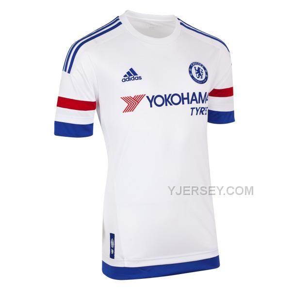 ... Chelsea Away White Soccer Jersey Kit(Shirt+Short) ... 28fce54e5
