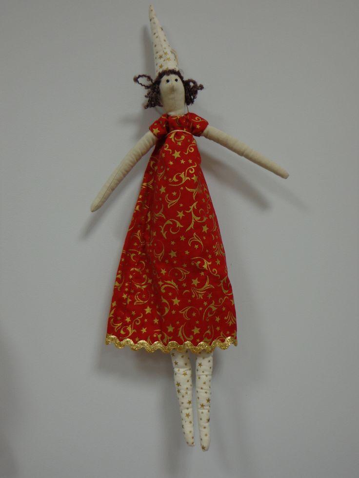 Ange de Noël Tilda 3