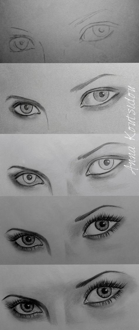 Eyes [ Tutorial ] by annakoutsidou.deviantart.com on @deviantART http://www.SeedingAbundance.com http://www.marjanb.myShaklee.com