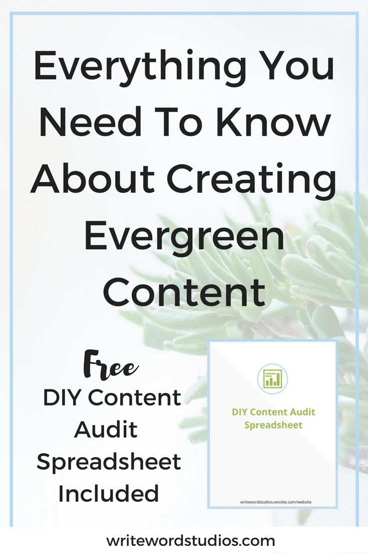 Everything You Need To Know About Creating Evergreen Content