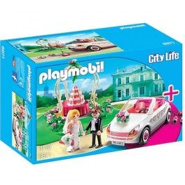 Playmobil 6871: Recién casados. PVP: 19,95 € Consíguelo en: http://www.playmoclicks.com/es/city-life-hospital-zoo-veterinario/1287-playmobil-6871-recien-casados.html