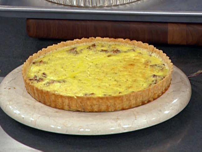 Quiche Lorraine recipe from Emeril Lagasse via Food Network