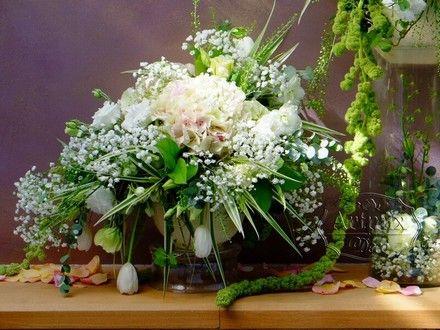Декор свадьбы живыми цветами, флористика на свадебном торжестве