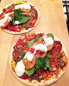 Healthy Living in Heels: Turkse Pizza's!