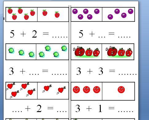 okul öncesi basit toplama işlemi - Google'da Ara