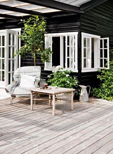 LA CASA DE VERANO DE TINE K / TINE K SUMMER HOUSE | DESDE MY VENTANA - outdoor living