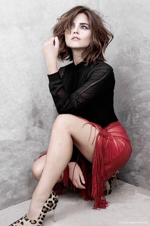 Jenna Coleman for Harrods Magazine 2015