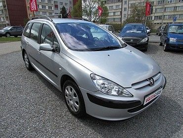 Peugeot 307 kombi 1.6i 80 kW, Eko se neplatí,