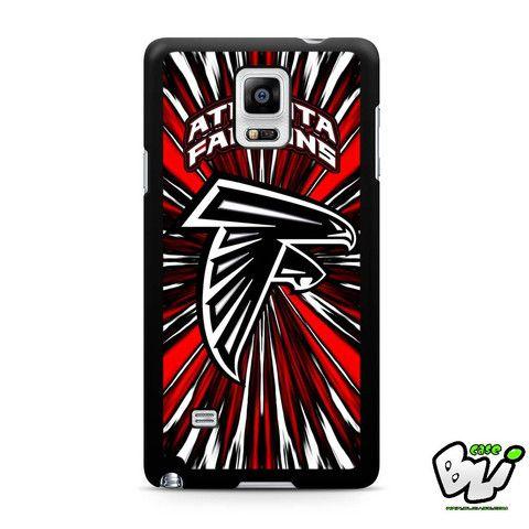 Atlanta Falcon Red Graphic Samsung Galaxy Note 4 Case
