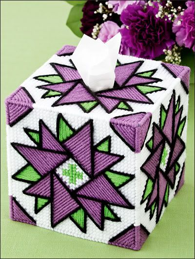 BIG BOOK OF TISSUE TOPPERS, Plastic Canvas Book, NEW