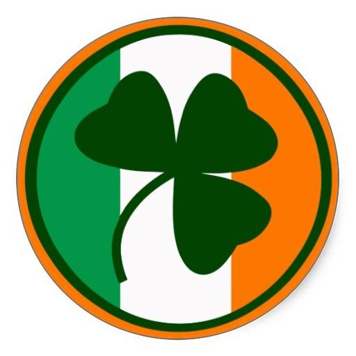 irish flag color