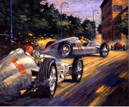 Attrayant Capturing Light, Atmosphere And Auto Racing With A Unique And Immersive  Style, Barry Roweu0027s Automobile Art ...